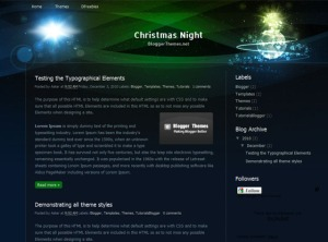 christmas-night-blogger-template