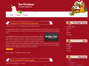 red-christmas-blogger-template